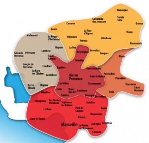 carte de aix en provence